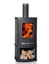 contemporary wood-burning stove (soapstone) TORUS SERIES: TORUS DEPOT Altech