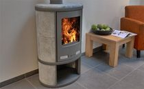 contemporary wood-burning stove (soapstone) ECOSY Altech