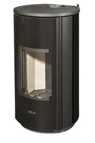 contemporary wood-burning stove (steel) NOMOS  COLA GF W&Auml;RMETECHNIK GMBH