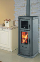 contemporary wood-burning stove (with oven) 860 EASY  THERMOROSSI