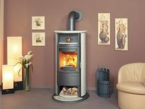 contemporary wood-burning stove (with warmer) 17 NHGT ECOPLUS Hark GmbH & Co. KG