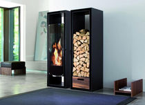 contemporary wood-burning stove GATE Wanders