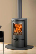 contemporary wood-burning stove (cast iron) ECO 600 Barbas
