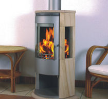 contemporary wood-burning stove (sandstone) A3 ARENA YELLOW SANDSTONE Color Emajl Doo