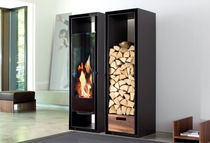 contemporary wood-burning stove (steel) GATE SKANTHERM