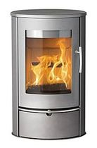 contemporary wood-burning stove (steel) LOTUS LIVA 1 Broseley Fires