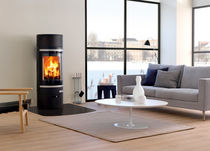 contemporary wood-burning stove (steel) 85 SCAN