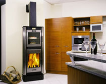 contemporary wood-burning stove (with oven) MAGLIASO CHEMINEES PHILIPPE