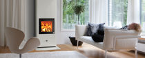 contemporary wood-burning stove (with oven) CENTUS  NunnaUuni
