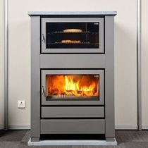 contemporary wood-burning stove (with oven) COOKING 63 Flam