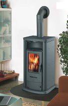 contemporary wood-burning stove (with warmer) 800 EASY THERMOROSSI