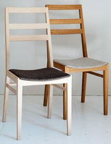 contemporary wood chair LANSA G.A.D