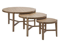 contemporary wood nesting table XANTHIPPI SET Coco-Mat