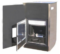 contemporary wood pellet boiler stove IDRO 25 / 25 ACS FACI di Matricciani Vincenzo sas
