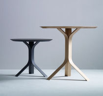 contemporary wood side table NAMU by Böttcher & Henssler Boewer
