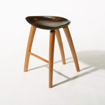 contemporary wood stool  Peter Hook