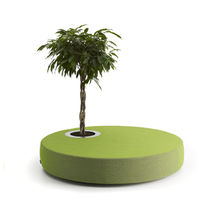 contemporary wood vase GREEN ISLANDS by Jean-Marie Massaud OFFECCT