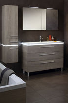 contemporary wood veneer bathroom HALO : FRUITIER CENDRÉ SANIJURA
