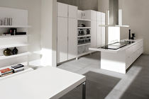 contemporary wood veneer kitchen VELVET NECK by Centro Stile GeD GeD cucine