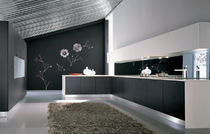 contemporary wood veneer kitchen FUTURA Corazzin Group - Contract & hotel