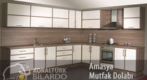 contemporary wood veneer kitchen AMASYA Koralturk Billliards and Furniture