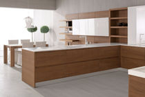 contemporary wood veneer / lacquer kitchen VELVET NECK by Centro Stile GeD GeD cucine