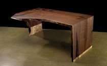 contemporary wood writing desk 0081 JOHN HOUSHMAND