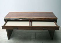 contemporary wood writing desk 0125 JOHN HOUSHMAND