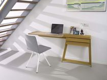 contemporary wood writing desk PIVOT by Shay Alkalay Arco Contemporary Furniture