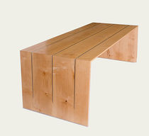 contemporary wood writing desk 44 Bliard Cr&eacute;ations