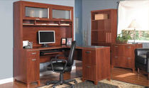 contemporary wood writing desk TUXEDO BUSH INDUSTRIES