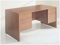 contemporary wood writing desk SI6030 DBFBFCO Office Furniture Group