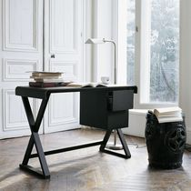 contemporary wood writing desk by Antonio Citterio SIDUS MAXALTO