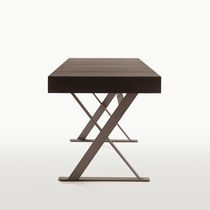 contemporary wood writing desk by Antonio Citterio MAX MAXALTO