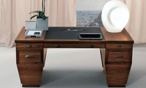 contemporary wood writing desk I SERIE MODIGLIANI by Piergiorgio Pradella BRUNO PIOMBINI