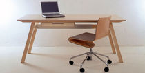 contemporary wood writing desk UNIVERSAL  Sanktjohanser