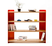 contemporary wooden and metal shelf MONADE by Francois Buchet Super ette