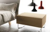 contemporary wooden bed-side table FILNOX PIEDE 16/24 CACCARO
