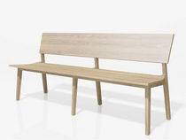 contemporary wooden bench BANKL Pühringer GmbH & Co KG