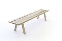 contemporary wooden bench DIVIS by  Council Design