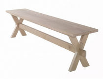contemporary wooden bench x Wewood