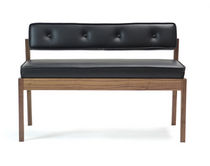 contemporary wooden bench ACORN II bark