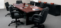 contemporary wooden boardroom table CT10WBX GLOBAL totaloffice