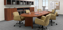 contemporary wooden boardroom table ZIRA GLOBAL totaloffice