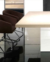 contemporary wooden boardroom table DOMINUS COLLECTION CA'ONORAI INTERIOR DESIGN