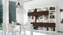 contemporary wooden bookcase LUCE: 13 Colombini