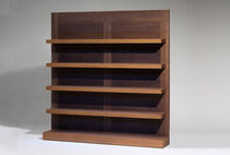 contemporary wooden bookcase ARABEL PHILIPPE HUREL