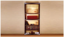 contemporary wooden bookcase VALKYRIE PHILIPPE HUREL