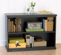 contemporary wooden bookcase BEDFORD  POTTERYBARN