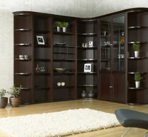 "contemporary wooden bookcase 2000: 88""H Jesper Office"